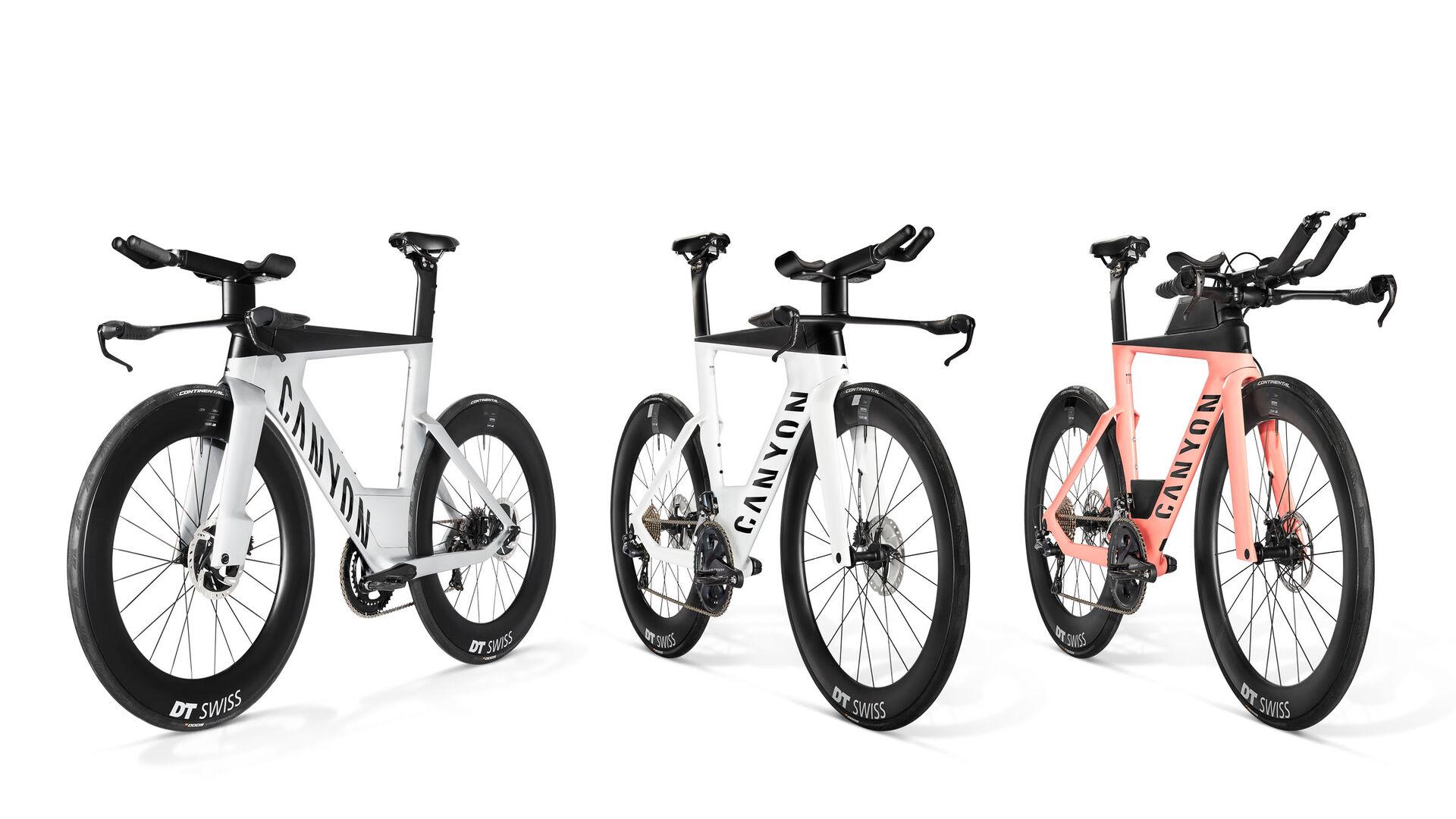Canyon Speedmax triathlon bikes