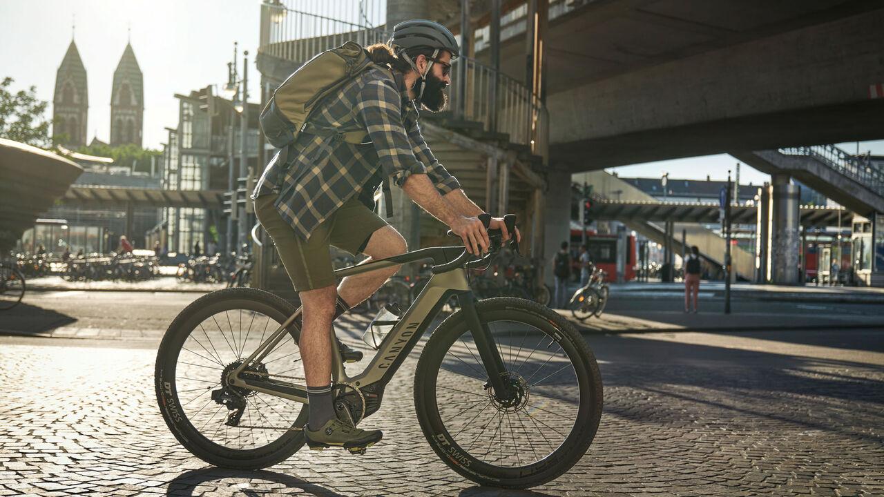 Canyon Grail:ON electric gravel bike