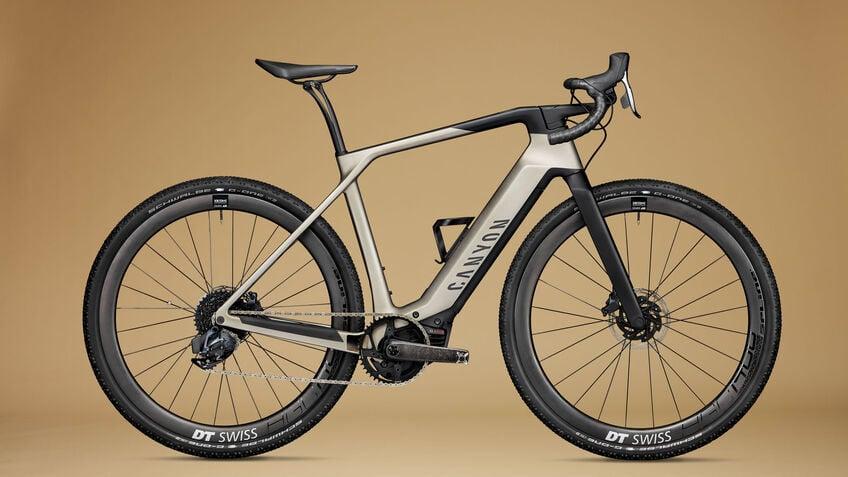 Canyon electric gravel bike Grail ON