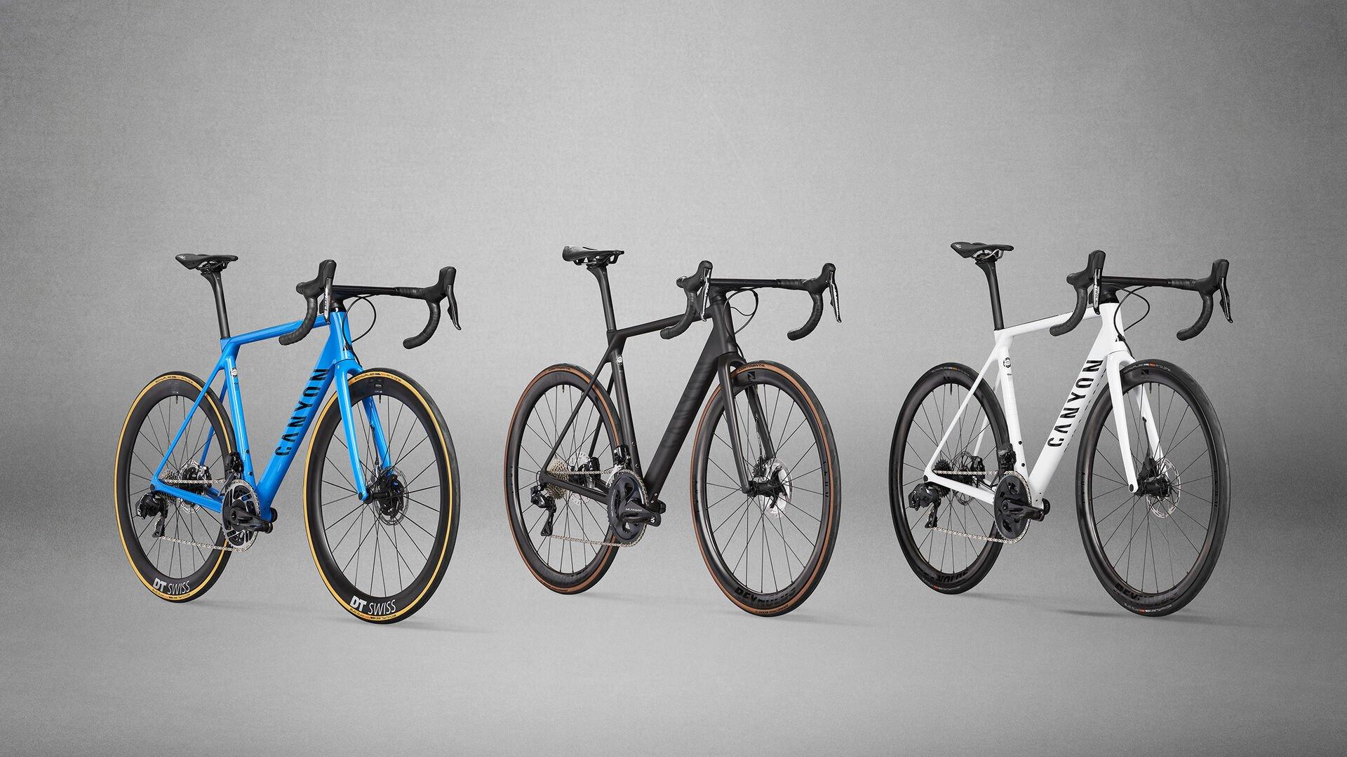 Canyon Ultimate race bikes