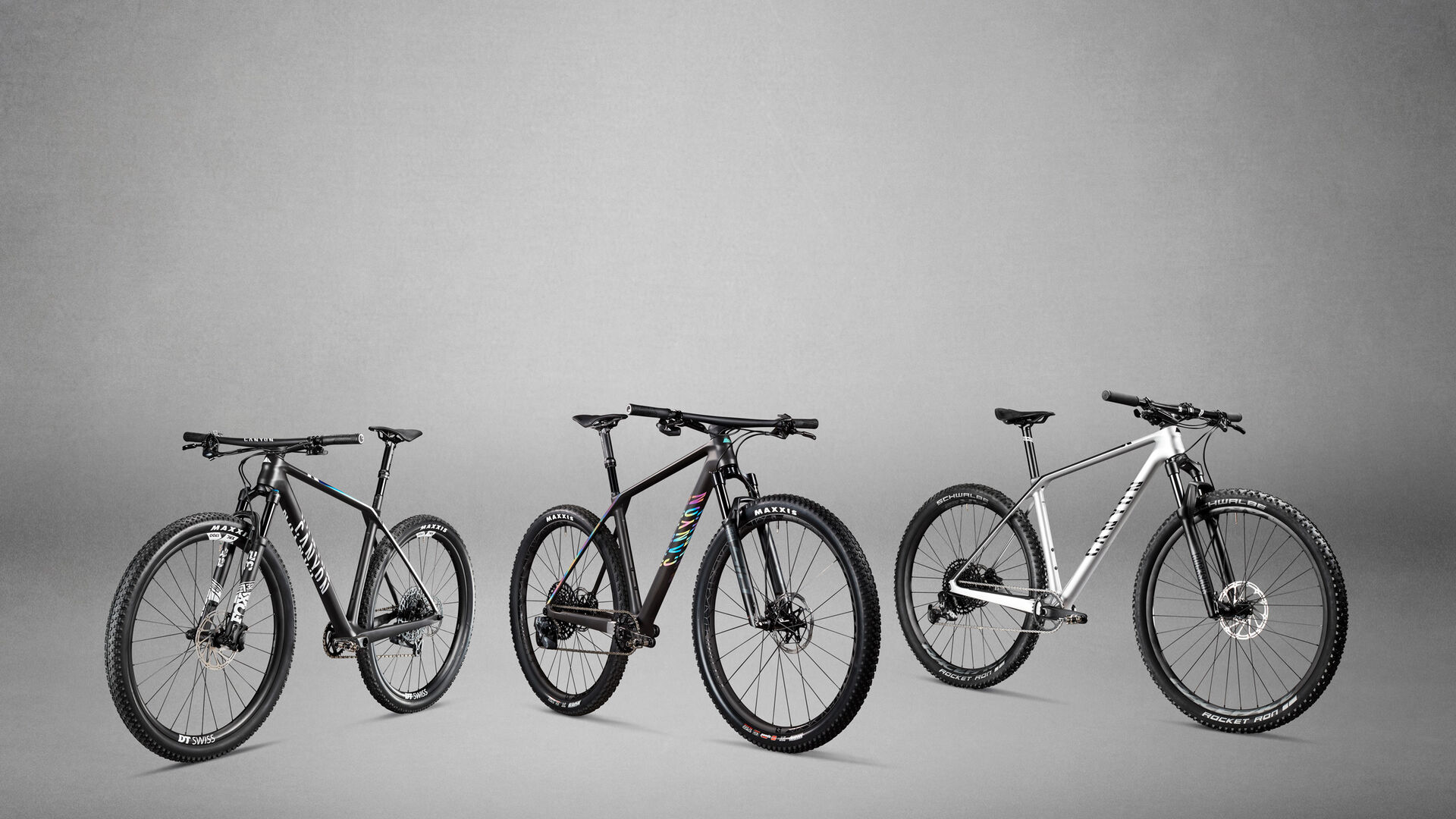Canyon Exceed gravel bikes
